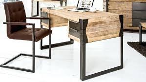bureau design industriel bureau industriel metal et bois maison design bahbecom bureau design