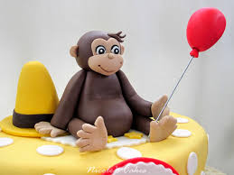 curious george cake topper confections cakes creations curious george cake