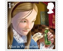 Happy 150th Birthday Alice Wonderland Heart