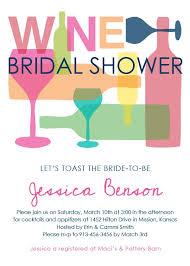 wine themed bridal shower invitations blueklip