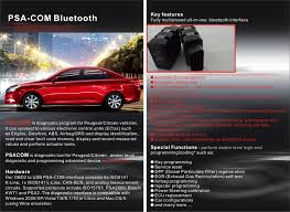 Lexia3 Pp2000 Obd Psa Xs by Psacom Bluetooth Diagnostic And Programming Tool For Peugeot Citroen