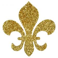 fleur de lis gold sticker s w1002 mardigrasoutlet com