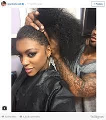 porsche williams hairline porsha williams natural hair hairstyle ideas