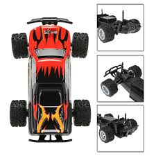 rc nitro monster trucks eu original wltoys l343 1 24 2 4g electric brushed 2wd rtr rc