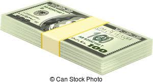 clipart money stack of money ladder leaning against a stack of u s clipart