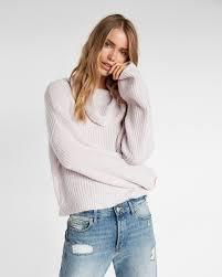 cowl sweater metallic cowl neck sweater express