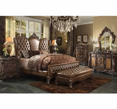 sale 1670 00 versailles traditional bed brown cherry beds af