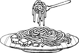 coloring pages meat and fish free for kids new glum me