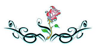dainty tribal lower back tattos tribal by b rox u on