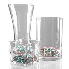 Cylinder Clear Glass Vases Clear Glass Vases