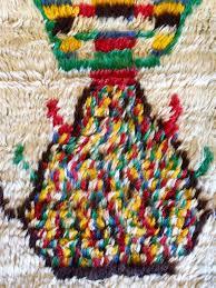 multicolored azilal moroccan rug u2022 4 7 x 5 1 u2013 timothy paul home