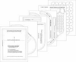 needles u0027n u0027 knowledge hidden wreath ovals christmas stocking tutorial