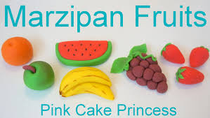 marzipan recipe how to make marzipan fruits by pink cake
