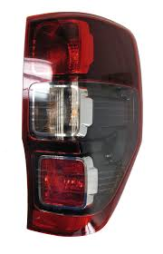 ford ranger wildtrak spec ford uk red black rear tail back light ford ranger wildtrak lamp o s 2012