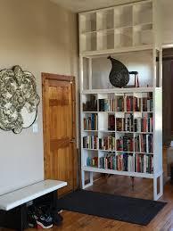 Ceiling To Floor Bookshelves My Ikea Kallax
