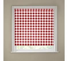 Pink Kitchen Blinds Buy Kitchen Roller Blind 3ft Red Gingham At Argos Co Uk Your