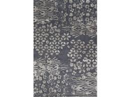 tappeti on line design handmade wool rug with floral pattern jungle icon collection by