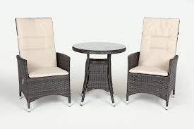 rattan recliner chair club reclining rattan bistro set high table