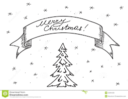 card merry christmas hand drawing eps royalty free stock