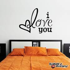 wall decals stickers home decor home furniture diy i love you heart vinyl wall decal removable home decor family free squeegee l042