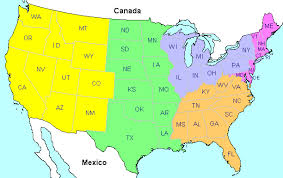 map usa identify the states in the united states of america