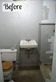 small basement bathroom ideas basement bathroom spruce up hometalk