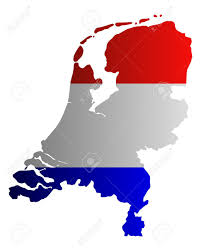 Map Of The Netherlands Map And Flag Of The Netherlands Royalty Free Cliparts Vectors