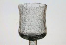 Home Interiors Candle Holders Interiors Peg Votive Candle Holder Crackle Glass 4 25 Inch X 2 75