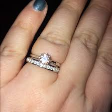 my wedding band do i get the same size wedding band as my engagement ring