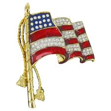 American Samoan Flag American Flag Pin