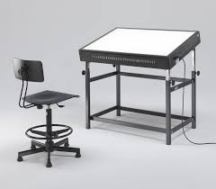 Drafting Table With Light Box Light Tables And Light Boxes For Designer And Architect Emme Italia