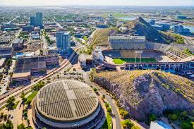 Asu Campus Map The History Of The Novus Innovation Corridor Asu Campuses And