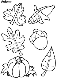 Crayola Coloring Pages Autumn Leaves Printable Image Fall Coloring Page
