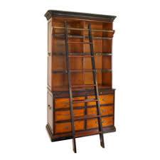 Bookcase Ladder Hardware Rolling Library Ladder Hardware Houzz