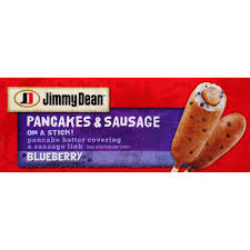 jimmy dean blueberry pancakes u0026 sausage breakfast on a stick 12