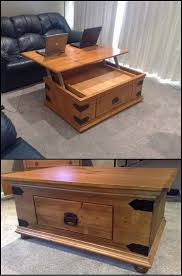 Plans For Wooden Coffee Table by Best 25 Lift Top Coffee Table Ideas On Pinterest Used Coffee