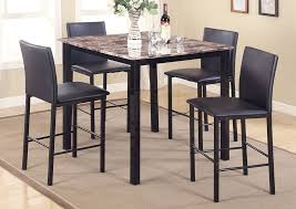 meyers u0026 tabakin inc aiden counter height dining room table w 4
