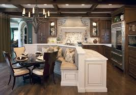 kitchen islands atlanta upholstered dining banquette with wood ceiling beams kitchen