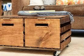Wood Storage Ottoman Charming Wooden Storage Ottoman Best Images About Storage On