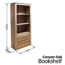 Oak Bookshelves by Canyon Oak Bookshelves Shelf Bookcase Stand Cabinet Storage 3