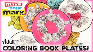 book plates dishes how to coloring book dishes