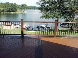 new deck trek deck pro cell decks azek decks 3 cts construction