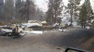 Fire Evacuations Stevens County by Cayuse Mountain Hart Road Update Fire Lines Hold Containment U