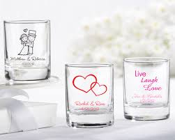 wedding favor glasses personalized glass votive holder glasses glass votive