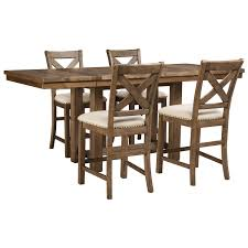Unfinished Bistro Table Ctahcy Light Brown Unfinished Wood Rectangle Pub Table For Bar And