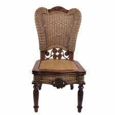 2017 enron house wicker chair wood chair with carved american