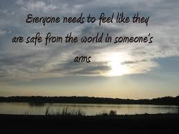 safe in someones arms quotes posters quote