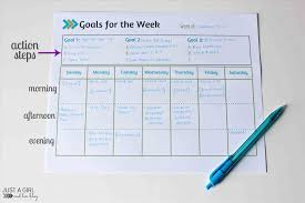 pdf personal goals sheet template goal setting worksheets