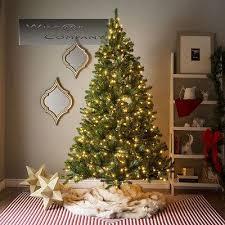 new 7ft slim pre lit tree 500 multi color bulbs lights