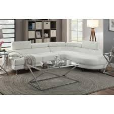 Modern White Bonded Leather Sectional Sofa Px Contemporary White Bonded Leather Sectional Sofa